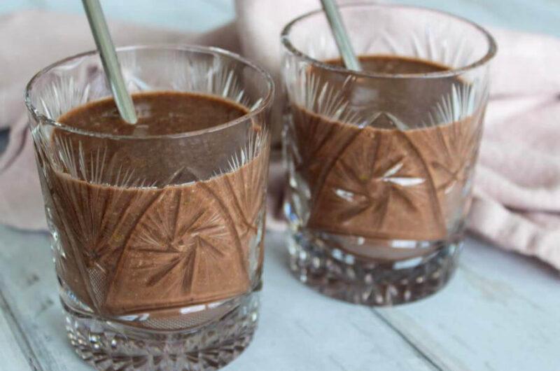 Chokolade-smoothie med Omega-3