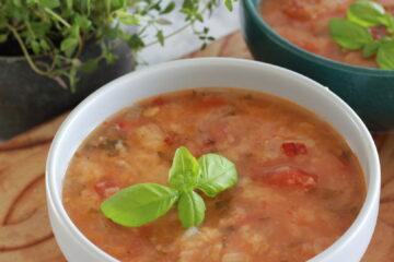 Italiensk tomatsuppe
