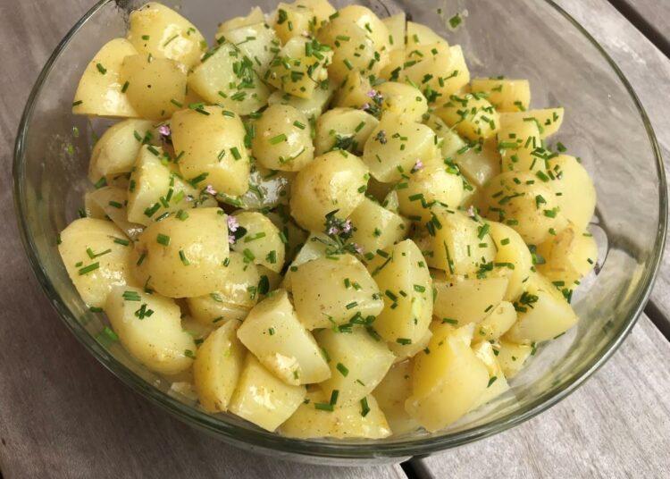 fransk kartoffelsalat