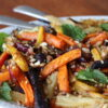salat med ristede grøntsager
