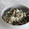risotto med svampe