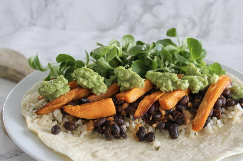 Burritos veggiestyle