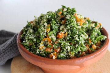 tabouleh med quinoa