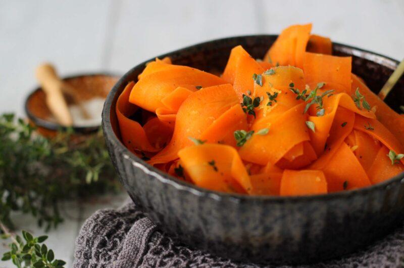 Citronmarinerede gulerødder