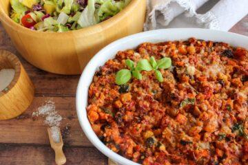 vegetarisk lasagne