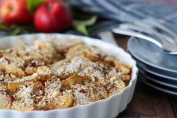 svensk æblekage